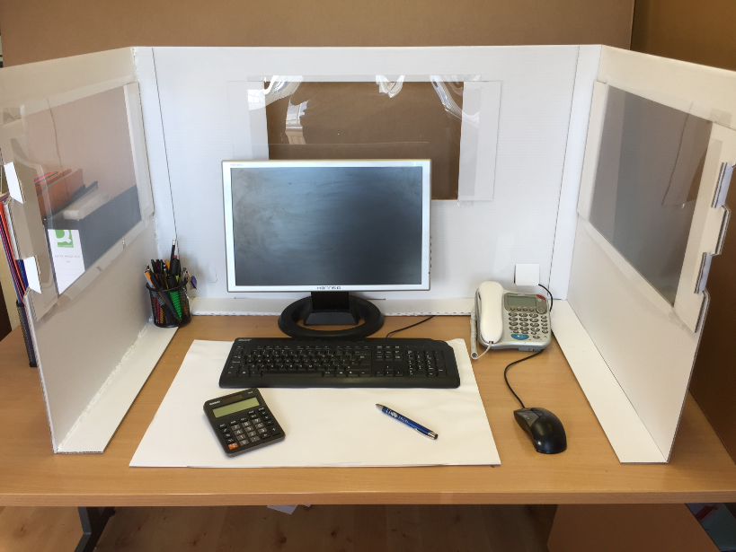 Desktop with windows Pic 2